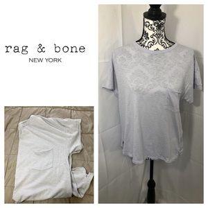 Rag & Bone Pocket Distressed Knit TShirt
